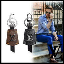 Louis Vuitton Unisex Street Style Leather Keychains & Holders