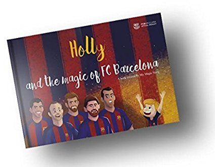 The Magic of FC Barcelona -The personalized book /English