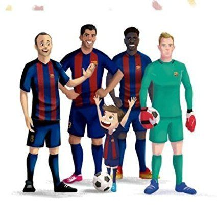 b0f2ee7ab ... My Magic Story Toys   Hobbies The Magic of FC Barcelona -The  personalized book ...