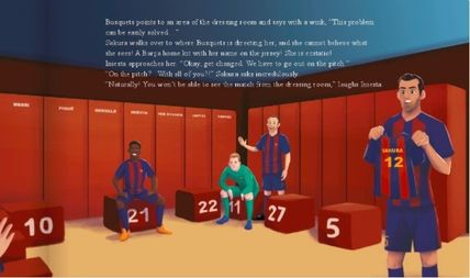 579358914 My Magic Story Toys   Hobbies The Magic of FC Barcelona -The personalized  book ...