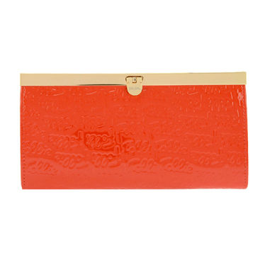 PVC Clothing Long Wallets