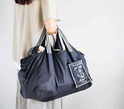Casual Style Nylon Bag in Bag Shoppers