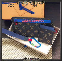 Louis Vuitton MONOGRAM Monoglam Cambus Blended Fabrics Bi-color