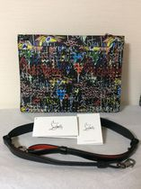 Christian Louboutin 2WAY Leather Clutches