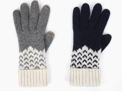 Casual Style Plain Smartphone Use Gloves