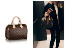 Louis Vuitton Monogram Casual Style Street Style Leather Shoulder Bags