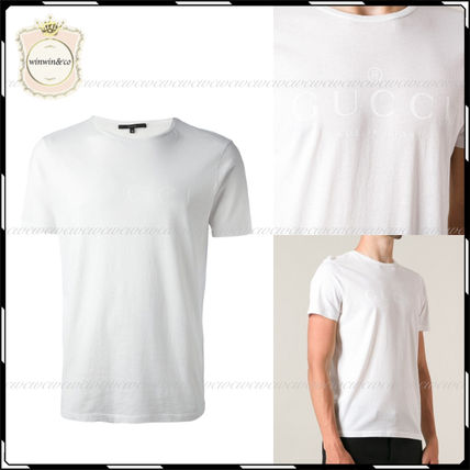 GUCCI More T-Shirts Street Style U-Neck Cotton Short Sleeves T-Shirts 17