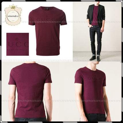 GUCCI More T-Shirts Street Style U-Neck Cotton Short Sleeves T-Shirts 18