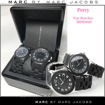 Marc by Marc Jacobs Unisex Round Quartz Watches Stainless Analog Watches