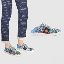 GUCCI Flower Patterns Street Style Elegant Style Low-Top Sneakers