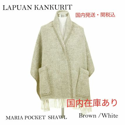 Casual Style Wool Lightweight Scarves & Shawls