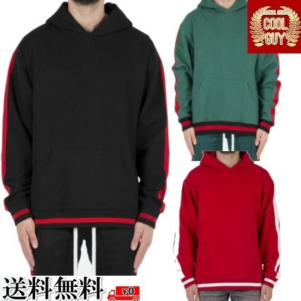 Long Sleeves Plain Cotton Hoodies