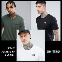THE NORTH FACE Crew Neck Pullovers Street Style Cotton Short Sleeves