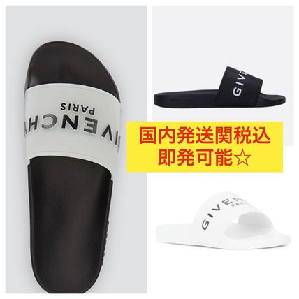 Street Style Bi-color Plain Shower Shoes Shower Sandals
