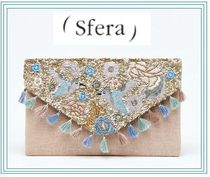 Sfera Tassel Street Style 2WAY Party Style Clutches