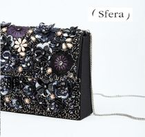 Sfera Flower Patterns Party Style Clutches