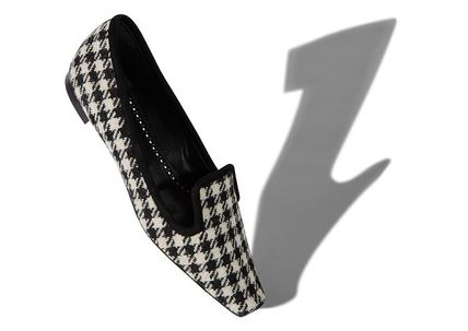 Zigzag Loafer Pumps & Mules