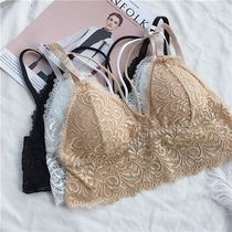 Flower Patterns Street Style Cotton Bras