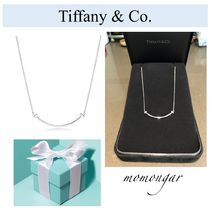 Tiffany & Co Tiffany T Costume Jewelry Casual Style Silver Necklaces & Pendants