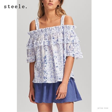 Casual Style Cotton Medium Bandeau & Off the Shoulder