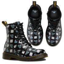 Dr Martens Skull Lace-up Lace-up Boots