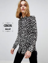 ASOS Casual Style Long Sleeves Other Animal Patterns