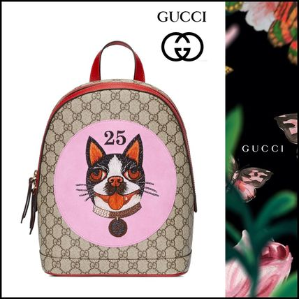 f0a83f9fa50 ... GUCCI Backpacks Casual Style Other Animal Patterns Backpacks ...
