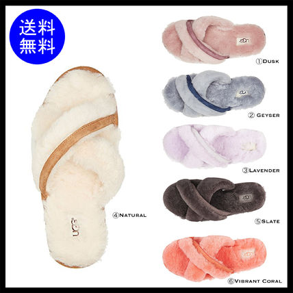Casual Style Sheepskin Shoes