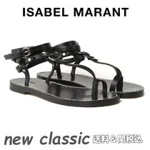 Isabel Marant Casual Style Plain Leather Sandals Sandals