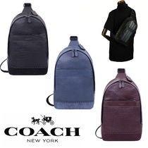 Coach Leather Messenger & Shoulder Bags