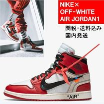 Off-White Plain Toe Street Style Collaboration Bi-color Sneakers