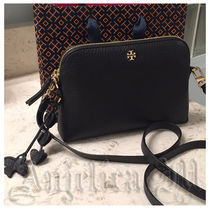 Tory Burch Casual Style 2WAY Plain Leather Shoulder Bags