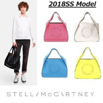 Stella McCartney Casual Style Street Style A4 Plain Totes
