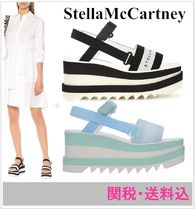 Stella McCartney Stripes Platform Shoes