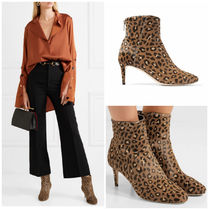 Jimmy Choo Leopard Patterns Ankle & Booties Boots