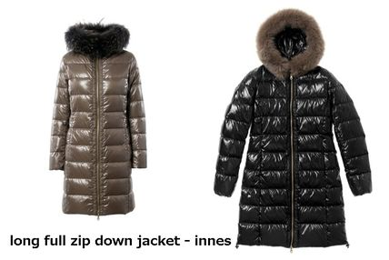 Casual Style Street Style Plain Medium Down Jackets