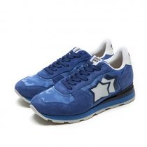 Atlantic STARS Star Camouflage Suede Street Style Sneakers