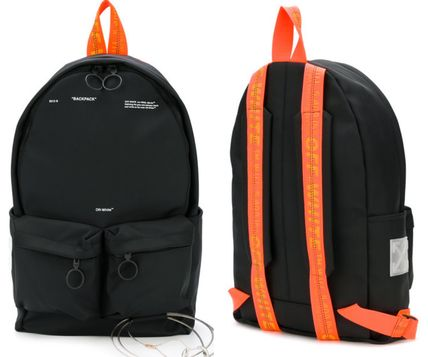 Unisex Cambus Street Style A4 Backpacks