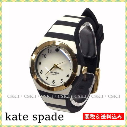 Casual Style Silicon Round Quartz Watches Analog Watches