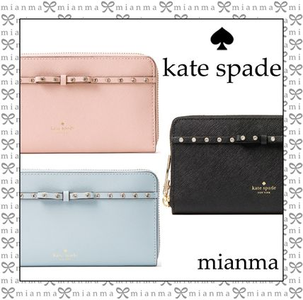 Studded With Jewels Long Wallets