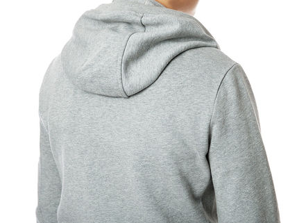 MONCLER Hoodies Street Style Long Sleeves Plain Cotton Logos on the Sleeves 9
