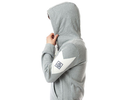 MONCLER Hoodies Street Style Long Sleeves Plain Cotton Logos on the Sleeves 13