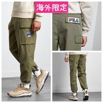 FILA Street Style Collaboration Cargo Pants