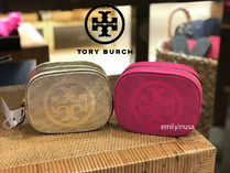 Tory Burch Leather Pouches & Cosmetic Bags