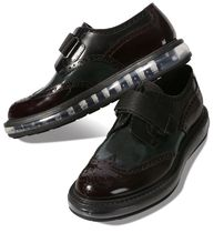 PRADA Wing Tip Leather Oxfords