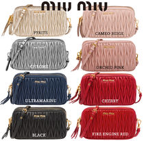 MiuMiu Plain Pouches & Cosmetic Bags