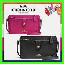 Coach Pop-Up Messanger Bag (Black/Cerise Pink)