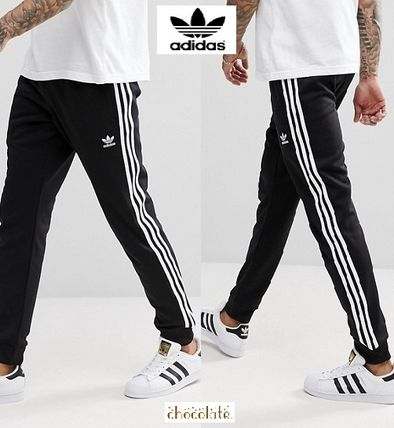 e1d5a76b5d48 ... adidas Joggers   Sweatpants Sweat Street Style Plain Joggers    Sweatpants ...