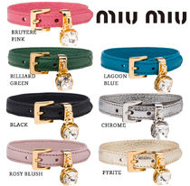 MiuMiu Leather Bracelets
