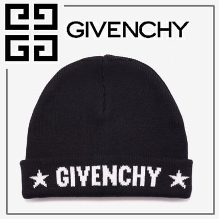 GIVENCHY 2018 SS Unisex Street Style Knit Hats by HABITS - BUYMA 378744164414